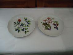 """Vintage Mixed Lot Vohens Strauss Bavaria 7.50"""" Luncheon/Salad/Dessert Plates #VohanStrauss"""