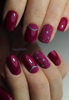What manicure for what kind of nails? - My Nails Pretty Nail Designs, Winter Nail Designs, Colorful Nail Designs, Nail Art Designs, Nails Design, Elegant Nail Designs, Trendy Nails, Cute Nails, My Nails