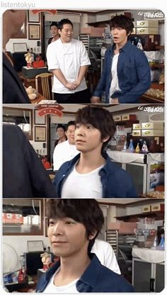 how to properly make someone go away... donghae style xD #donghae #superjunior