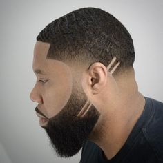 Discover our Top 100 of black men haircuts ? From the Buzz Cut to the FrowHawk, this guide offers to you the most amazing Black Men Hairstyles. Show one of these hairstyles to your barber to stay fresh and clean ? Trendy Mens Haircuts, Black Men Haircuts, Black Men Hairstyles, American Hairstyles, Formal Hairstyles, Curly Hairstyles, Black Hair Cuts, Short Hair Cuts, Short Hair Styles