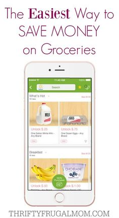 I have a $225/mo. grocery budget and it's one of my favorite ways to save money on groceries because it's so simple! Just a couple of minutes each week using the Ibotta app will have you earning cash back on things that are already on your grocery list!