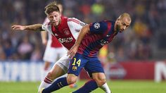 Javier Mascherano filled in for Sergio Busquets and continued to show why he is still a stellar defensive midfield option when needed.