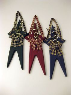 primitive crafts | Wooden Primitive Star • Wooden Crafts • Quilts of Shady Maple