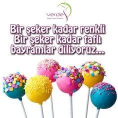 Şeker tadında bayramlar diliyoruz, #BayramınızKutluOlsun !  #verdesağlık #ŞekerBayramı #bayram