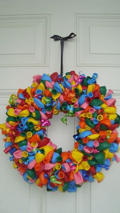 Christine's Favorite Things: A Birthday Balloon Wreath