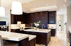 light floor dark cabinets | light floors dark cabinets | For the Home