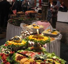 Awesome catering display
