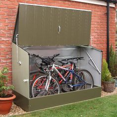 11 Best Outdoor Bike Storage Images