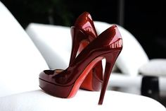 love this red, though these are too high for me.