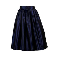 NAVY LADY LENGTH party skirts