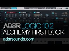 Logic Pro X 10.2 Update - Alchemy Synth First Look - YouTube