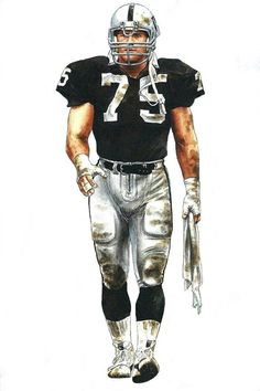 Hall Of Fame Howie Long Los Angeles Raiders Oakland Raiders Silver and Black Raiders Players, Oakland Raiders Football, Raiders Baby, Nfl Football Players, Nfl Oakland Raiders, Football Art, Football Memes, Football Signs, Sports Memes