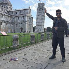 #Repost from @barone_piero with @ig_saveapp. Oggi essendo la mia prima volta a #Pisa come consuetudine ho dato una mano pure io #Italy