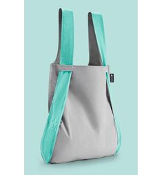 Convertible Tote Backpack, Main, color, Mint/ Grey
