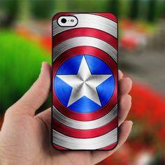Captain America custom Case for iPhone 4 / 4s case by TempekShop, $14.99