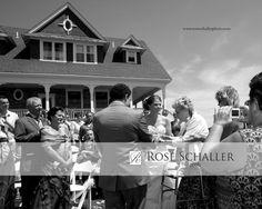 Josh and Meg's Summer Block Island Wedding at the Sullivan House | NY photographer Rose Schaller Photo