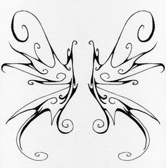 Fairy Wings Tattoo Designs Ideas Picture 2