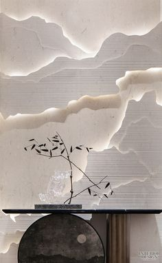 The Best 2019 Interior Design Trends - Interior Design Ideas Japanese Interior, Modern Interior, Interior Architecture, Home Interior Design, Design Interiors, Japanese Art, Rooms Decoration, Decoration Design, Display Design