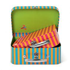 STRIPED SUITCASES : NEW FOR JUNE : Tiger UK