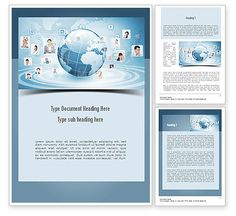 Business Networking Word Template http://www.poweredtemplate.com/word-templates/careers-industry/11001/0/index.html