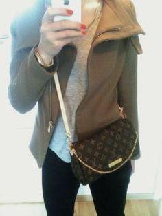 06210b30f12f Louis Vuitton Favorite MM  Many years ago when I was blissfully ignorant  about designer handbags