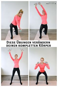 Laut Fitness-Guru Betina Gozo brauchst du lediglich zwei Übungen, um deinen gesamten Körper zu trainieren. Lese mehr zu dem Workout auf ELLE.de! #workout #fitness #sports #weight #excercises #lifestyle #trending