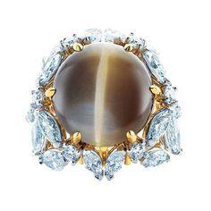 Tiffany cat eye ring