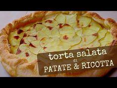 TORTA SALATA DI PATATE E RICOTTA RICETTA FACILE - Potato and Ricotta Cheese Pie Easy Recipe - YouTube