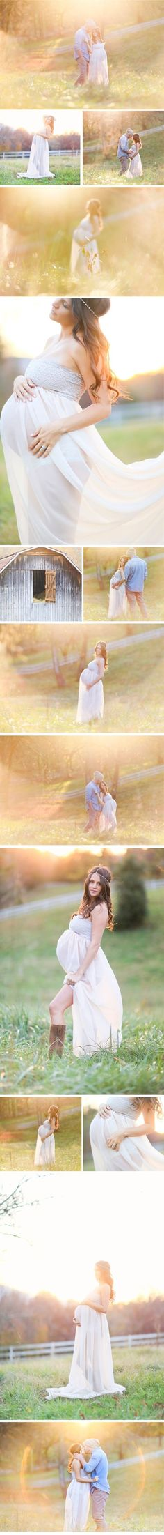 Fairy tale like maternity photos so beautiful