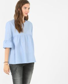 Chemise peplum - Succombez à la tendance peplum de la chemise!