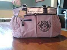 Pink Juicy couture diaper Bag NWT!!