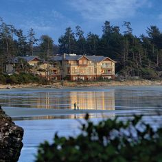 Long Beach Lodge Resort Tofino, Canada Handcrafted furniture fills the rooms at the Long Beach Lodge Resort, which has its own surf school as well as marine wildlife boat tours. Vancouver Island, Vacation Destinations, Dream Vacations, Vacation Ideas, Adventure Resort, Boat Tours, Canada Travel, Island Life, Long Beach