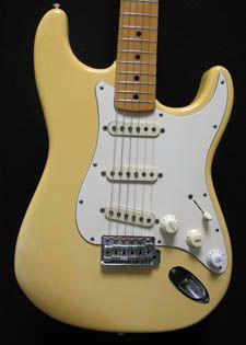 1974 Fender Stratocaster in a no reserve auction. Seller states it's all original with the exception of the switch, one pot and a knob...