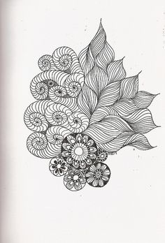 Zentangle and zendoodles Tangle Doodle, Tangle Art, Zen Doodle, Doodle Art, Zentangle Drawings, Doodles Zentangles, Doodle Drawings, Doodle Patterns, Zentangle Patterns