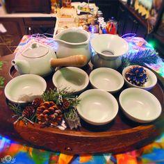 Селадоновый набор для ценителей церемониала. Хороший подарок как для себя, так и для любого чайного гурмана! .
