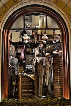 Ralph Lauren store at 173 Boulevard Saint Germain in the Latin Quarter of Paris