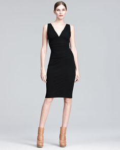 Ruched Sheath Dress by Jean Paul Gaultier at Bergdorf Goodman.