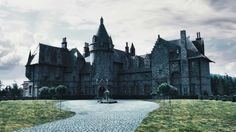 I would love a big gothic house like on Dark Shadows