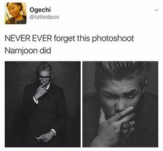 Okay, Rap Monster, you can get off my feed now. I mean, how rude...