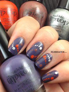Star Bright nail art
