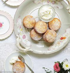 Mary Berry Absolute Favourites Part II: Mini apple and almond cakes   Daily Mail Online