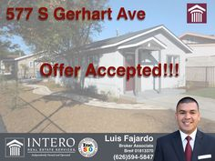 OFFER ACCEPTED! Congratulations to my client for getting her offer accepted now on to a successful closing... Wondering if you qualify for a home? Click on the link below to calculate your payment http://bit.ly2d26uek or give me a call to start on your pre-approval! #offeraccepted #ontoclosing #callme #icanhelp #6265945847 #fajardohomesales #interosocal #interodowney #clickonthelink  http://bit.ly/2d26uek