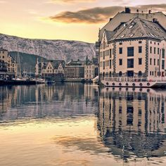 Alesund, Norway  And then Hildre!