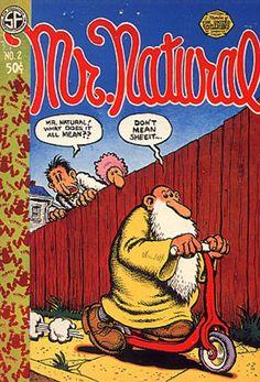 Natural No. 2 by Robert Crumb - First Printing - 1971 - from Third Mind Books (SKU: Robert Crumb, Comic Book Characters, Comic Books Art, Caricatures, Fritz The Cat, Bd Comics, Collage, Classic Comics, Comic Book Covers