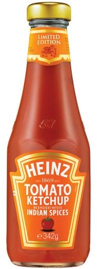 Limited edition Heinz Ketchup. this is so good , stock up while it's available