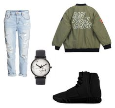 """""""Untitled #129"""" by giselaturca on Polyvore featuring Chicnova Fashion, adidas, H&M, The Horse, women's clothing, women, female, woman, misses and juniors"""