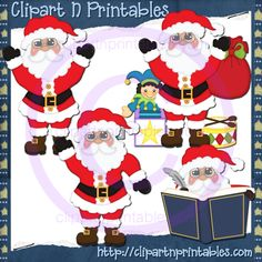 Santa Claus With Glasses 14