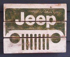 It's a JEEP thing, Vintage looking Pallet wood hand made, hand painted sign Auto Jeep, Jeep Cj, Jeep Truck, Jeep Wrangler, Toledo Ohio, Wood Pallets, Pallet Wood, We Will Rock You, Pallet Art