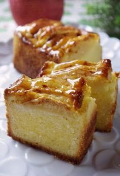 「●りんごとシナモンのチーズケーキ」handmadecafe | お菓子・パンのレシピや作り方【corecle*コレクル】