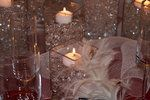 Wedding, Reception, White, Ceremony, Red, Centerpiece, Silver, Inspiration board, Crystals, Winter